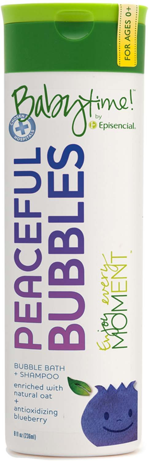 Episencial Babytime! Peaceful Bubbles - 8 oz