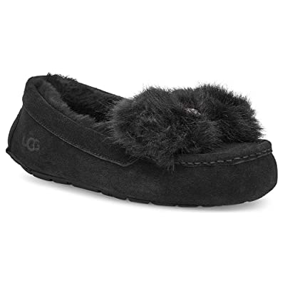 UGG Womens Ansley Puff Bow Slipper | Slippers
