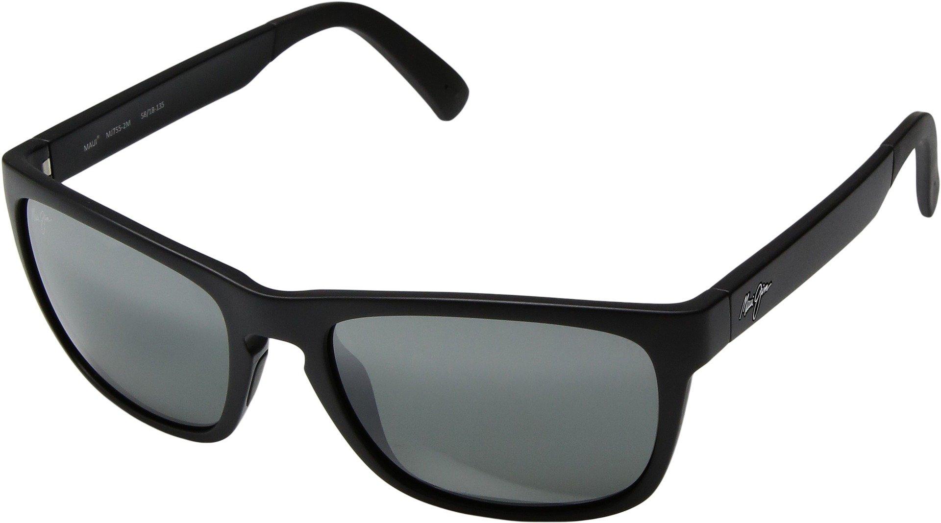 Maui Jim Unisex South Swell Matte Black/Neutral Grey Sunglasses