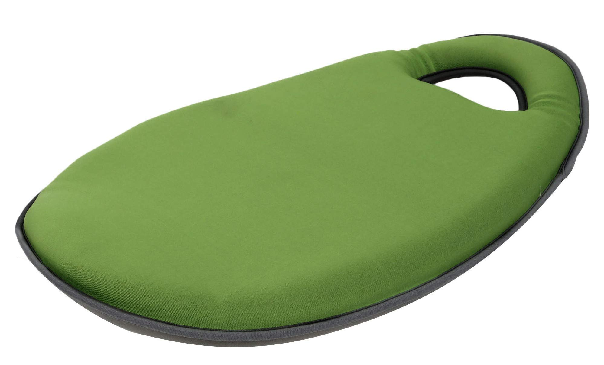 Comfortable Kneeling Pad for Scrubbing Floors, Gardening & Construction - Kneeling - Multi-use and Light Neoprene Fabric - Memory Foam - Color Light Green - Stylish and Unique Design