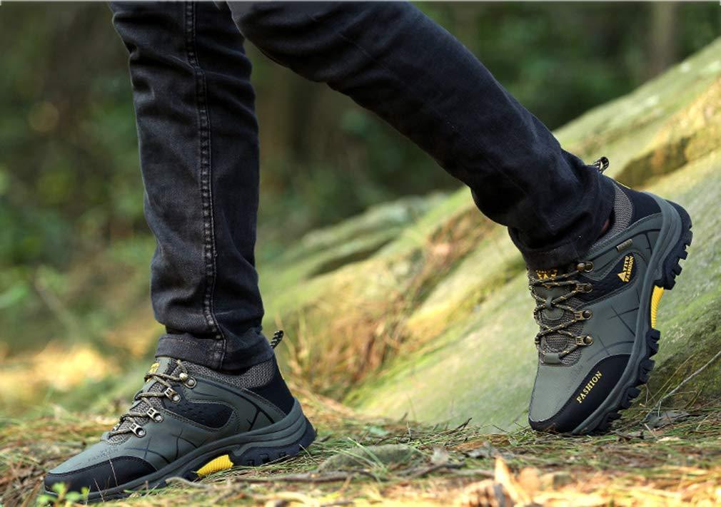 Gfphfm Herrenschuhe, High-Top-Wanderschuhe Off-Road Outdoor Running schuhe Fall Fall Fall Winter Lace-Up Combat Stiefel & Turnschuhe,C,44 70a054