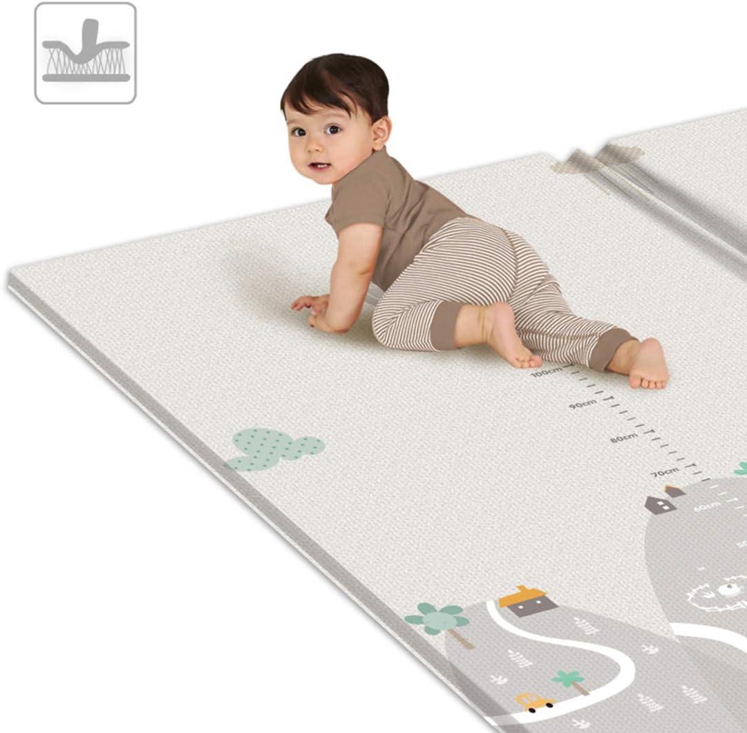 Polai Alfombra Infantil Manta de Juegos Beb/é 200 x 180cm