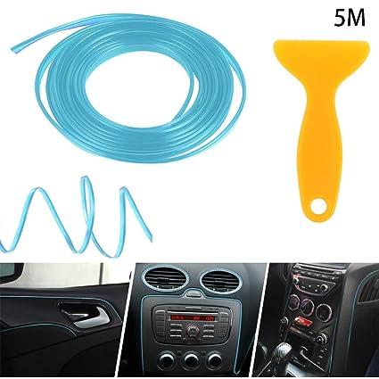 Amazon Com Eadorns 5m Bright Blue Car Interior Styling