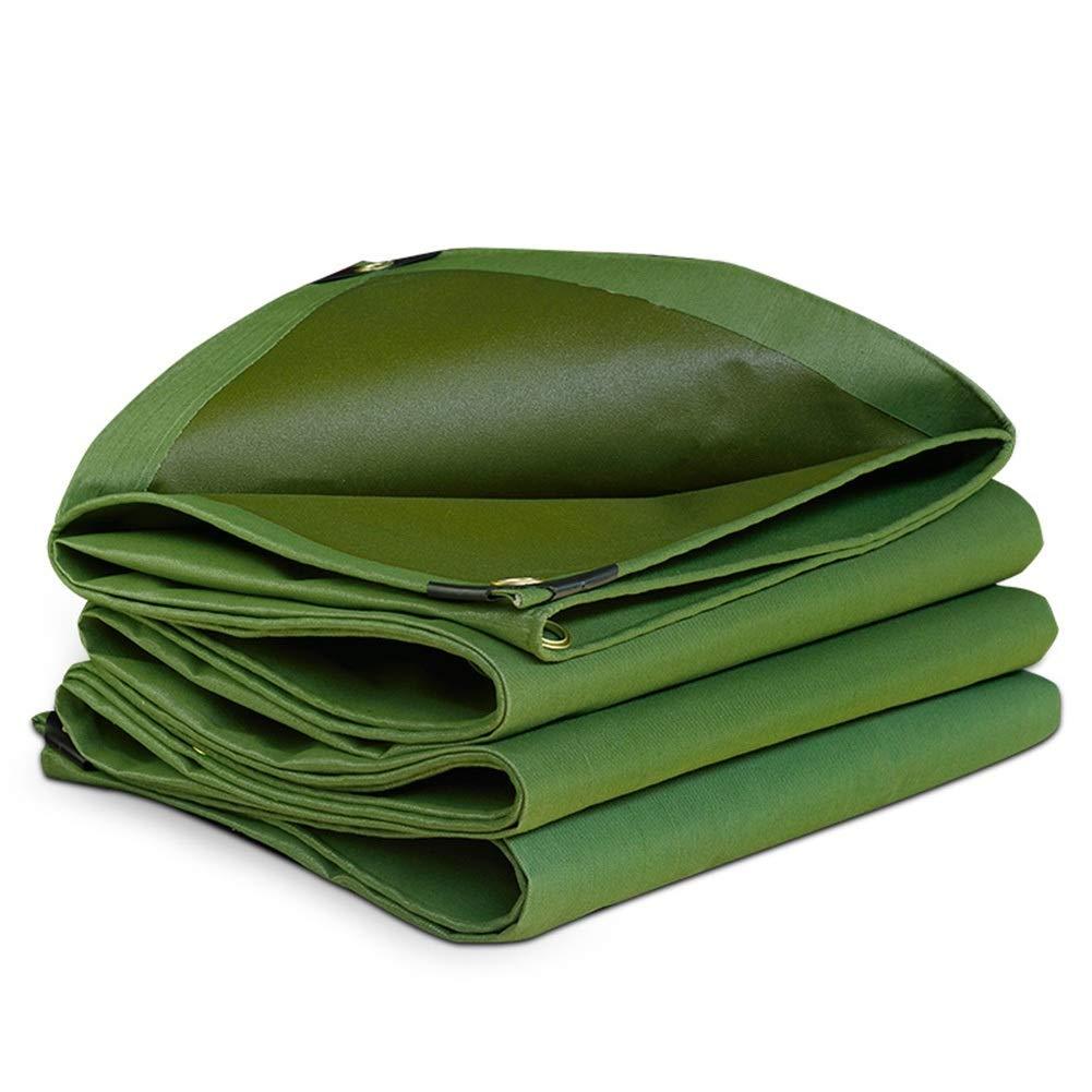 LIXIONG オーニング屋外の シェード 防水シート 酸化防止 厚いラップ角 ホットメルトステッチ 防雨布、 18サイズ (色 : 緑, サイズ さいず : 4.8X4.8m) 4.8X4.8m 緑 B07QHCMLVF