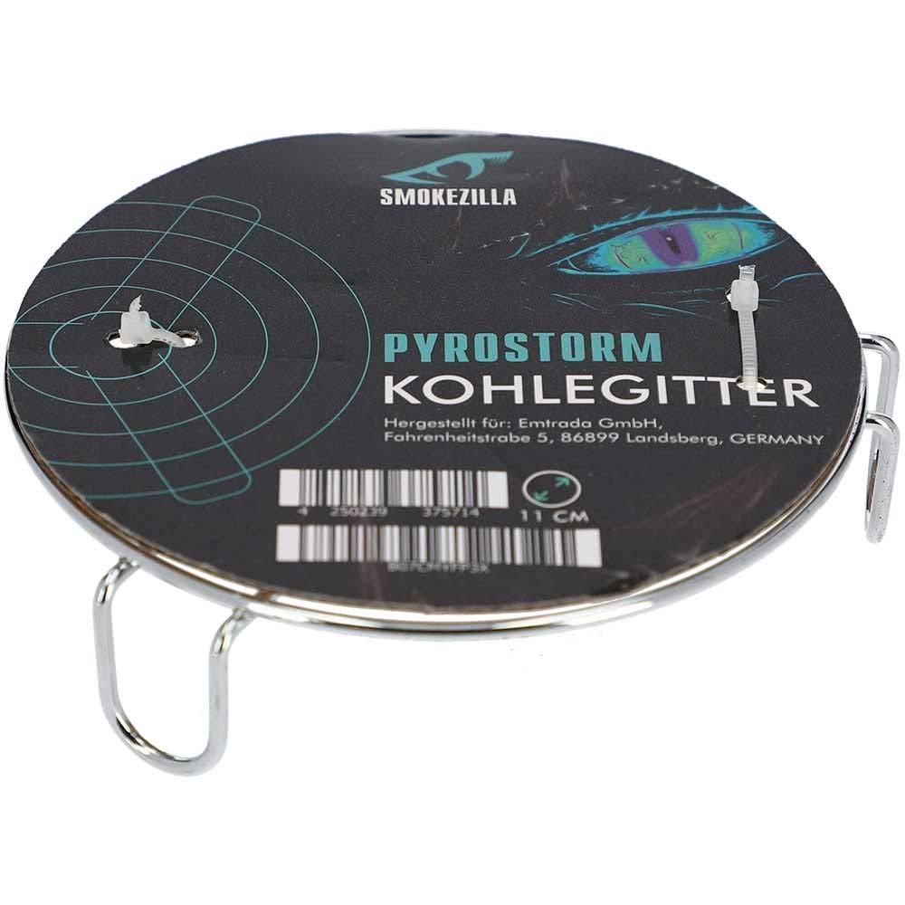 Charcoal Grating for Shisha Carbon Starter 11cm Smokezilla Pyrostorm Coal Grid for Hookah Coal Lighter