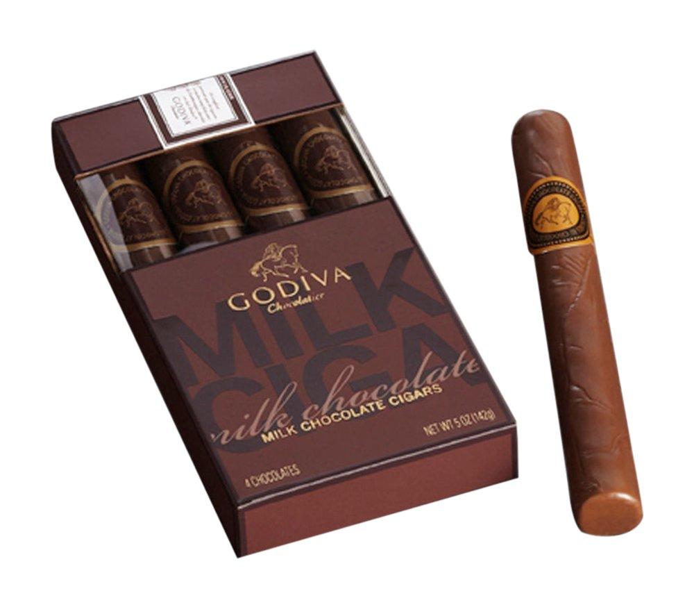 Amazon.com : Godiva Chocolatier Milk Chocolate Cigars, Great as ...