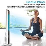 TRUSTECH Oscillating Fan, Tower Fan with Remote