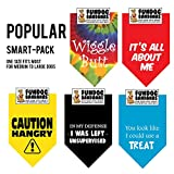 Smart-Pack - Popular Pack (5 Dog Bandanas) (One Size Fits Most for Medium to Large Dogs)