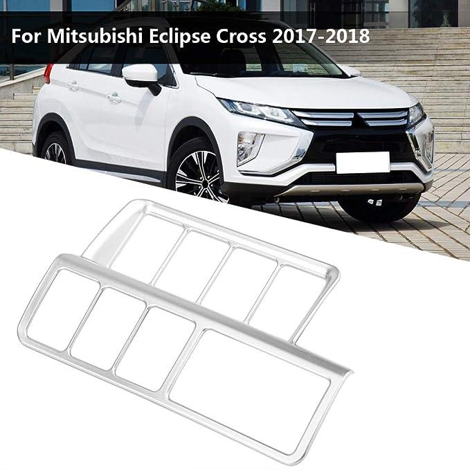 plata mate KIMISS Cubierta decorativa del interruptor de ajuste de la linterna del coche para Cross 2017-2018