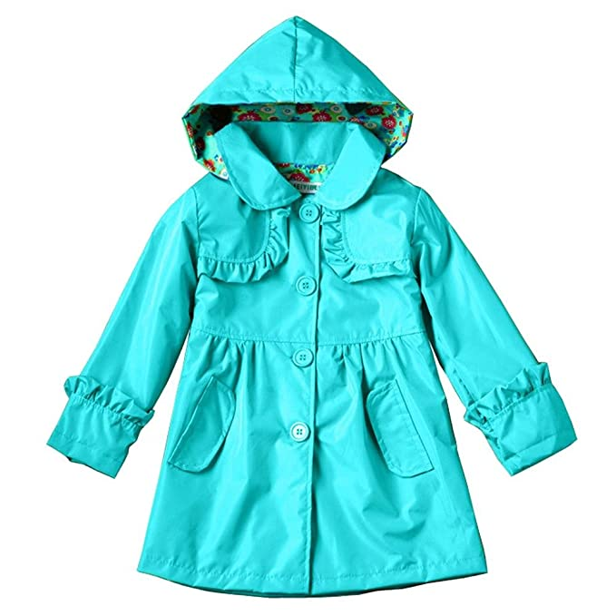 Amazon.com: Wennikids - Abrigo impermeable con capucha para ...
