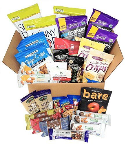 Healthy Snacks To Go Box (30 count) - Box Healthy Gift Gourmet