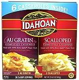 6 gratin dish - Idahoan Au Gratin and Scalloped Potato Homestyle Casserole - 6 pack