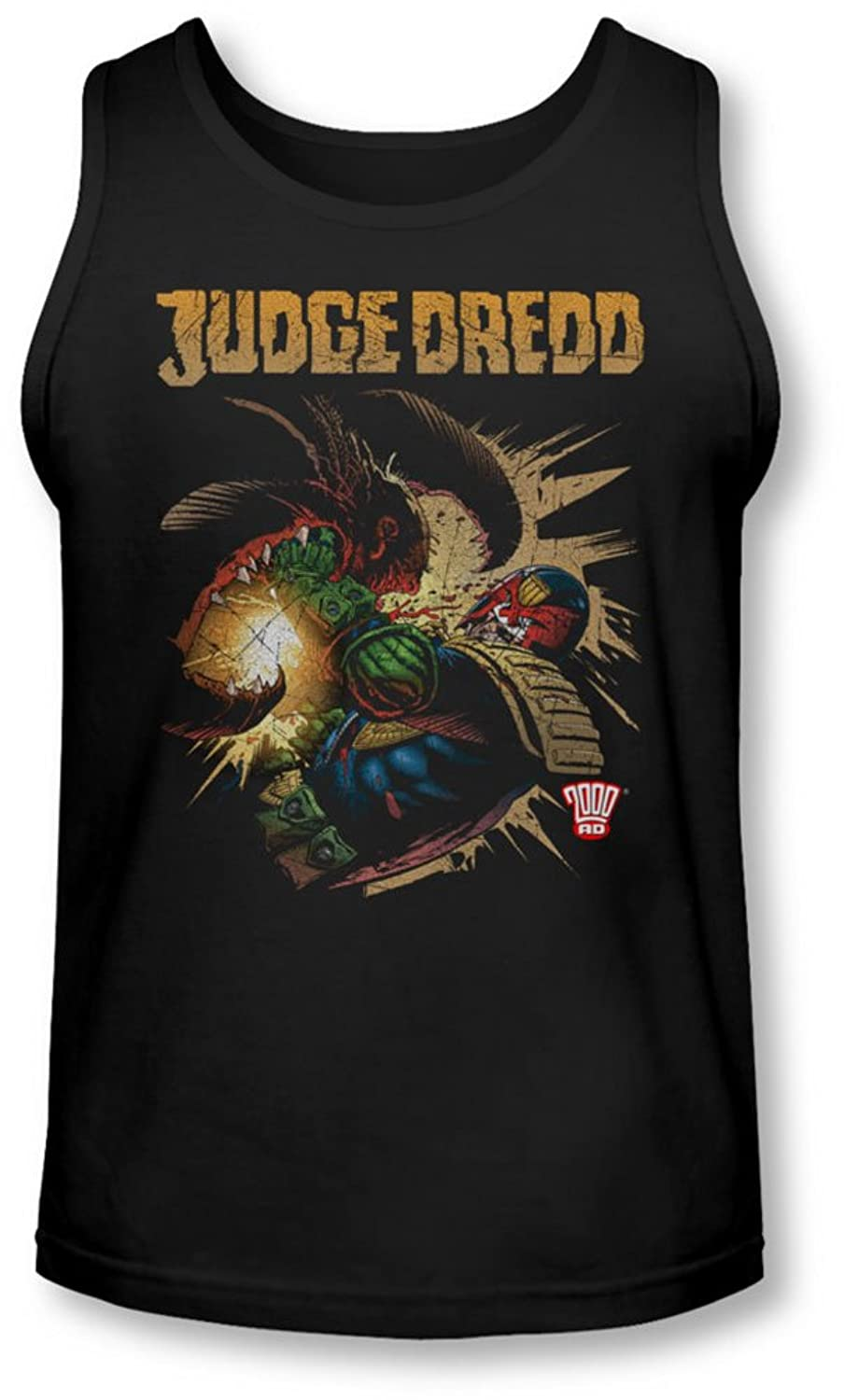 Judge Dredd - Mens Blast Away Tank-Top