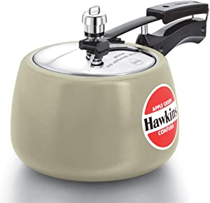 Hawkins Ceramic CAG30 Pressure cooker, 3 L, Apple Green