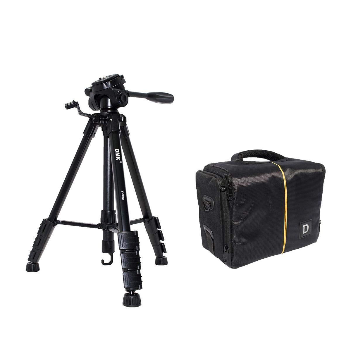 DMK POWER T690 Tripod + BL-25 D Camera bag for Nikon D600, D3100 D3200  D5100 D5200 D5300 D7100 D7200 DSLR Cameras etc