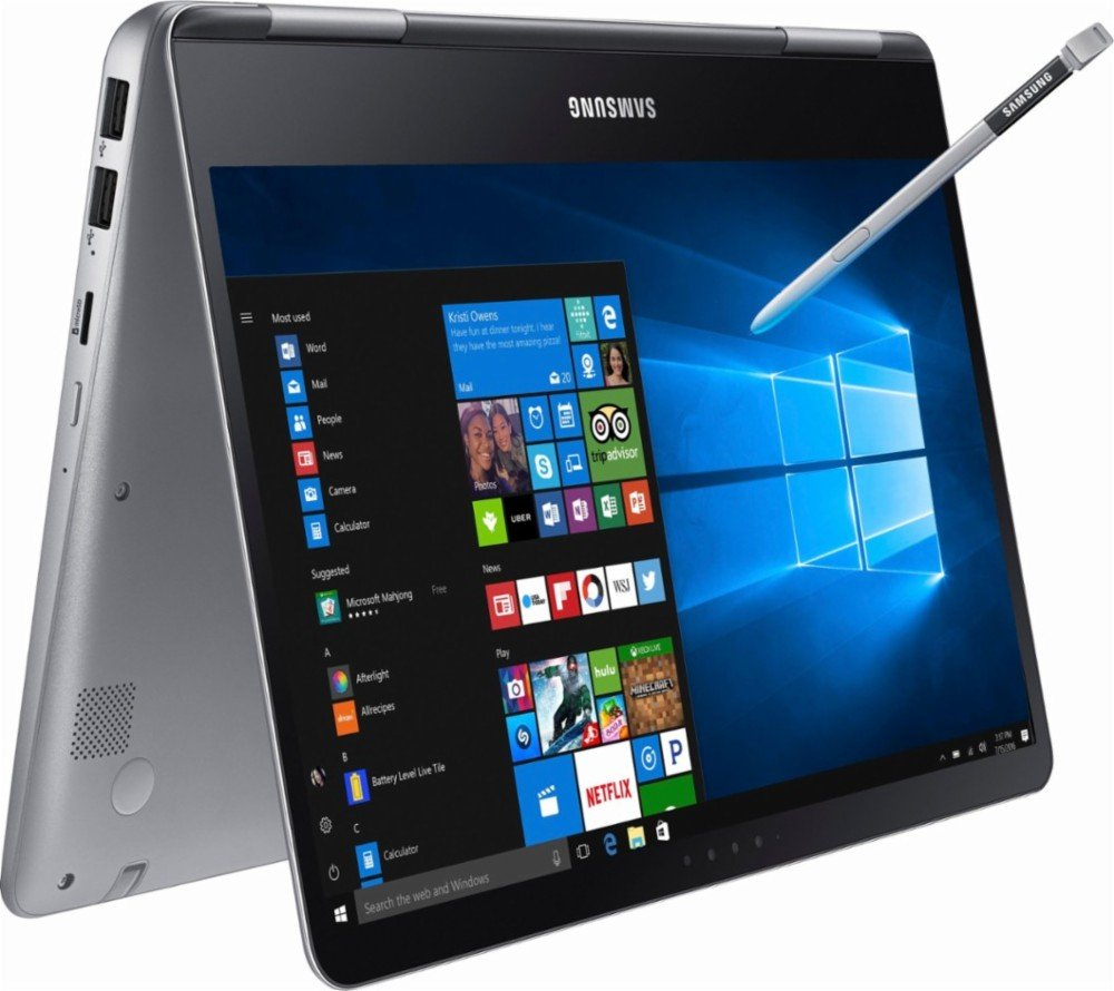 2017 Newest Flagship Samsung Notebook 9 Pro Business 13.3'' FHD 2-in-1 Touchscreen Laptop/Tablet - Intel Dual-Core i7-7500U, 8GB RAM, 256GB SSD, Backlit Keyboard, WLAN, HDMI, Win 10 - Built in S PEN