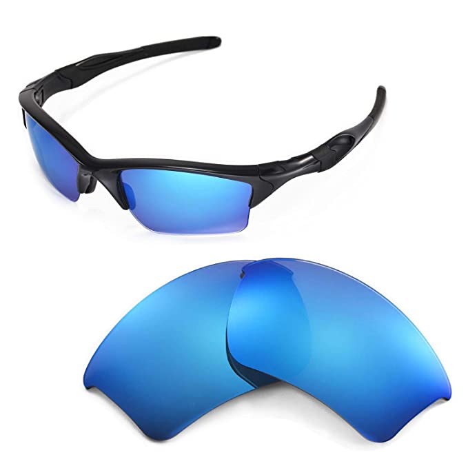 2c4a128371 Image Unavailable. Image not available for. Color  Walleva Replacement  Lenses for Oakley Half Jacket 2.0 ...