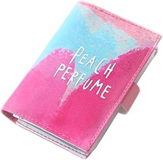 Porte-cartes organisateur de carte de portefeuille, 20 fentes de cartes, Rose Blancho Bedding