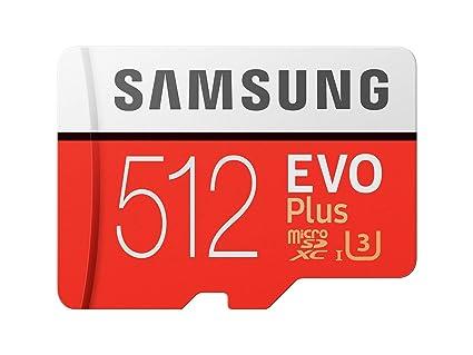 Sd Karte Micro.Samsung Memory Mb Mc512gaeu 512 Gb Evo Plus Micro Sd Karte Mit Adapter