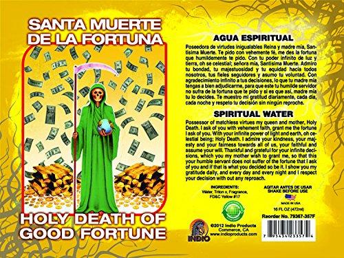 Spiritual Water Holy Death/fortune 16ozAGUA ESP MUERTE/FORTUNA 16oz