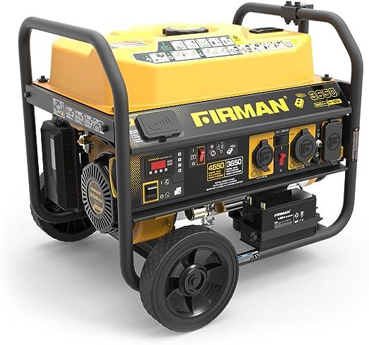 Amazon.com: Firman P03612 4550/3650 W 120/240 V Generador de ...