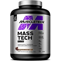 MuscleTech Mass Tech Mass Gainer Protein Powder, Build Muscle Size & Strength with High-Density Clean Calories, Milk…