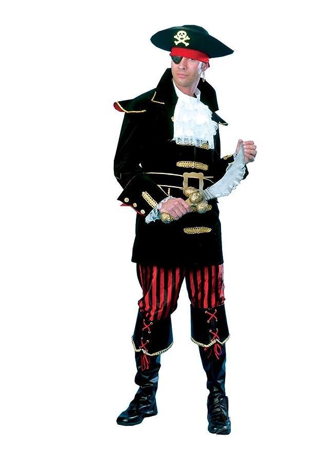 Seiler24 Premium Lujo 48 disfraz de pirata hombre gancho/50 ...