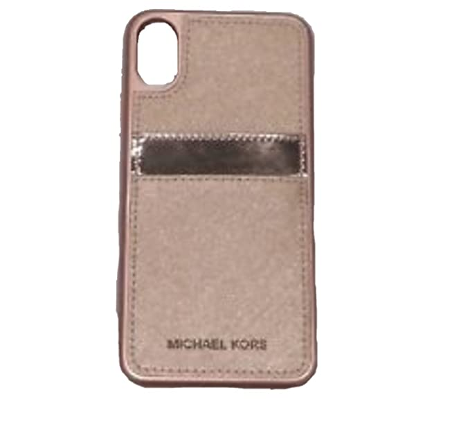 9a87eb3d9944d9 Amazon.com: Michael Kors Leather Samsung S8 PLUS With Front Pocket ...