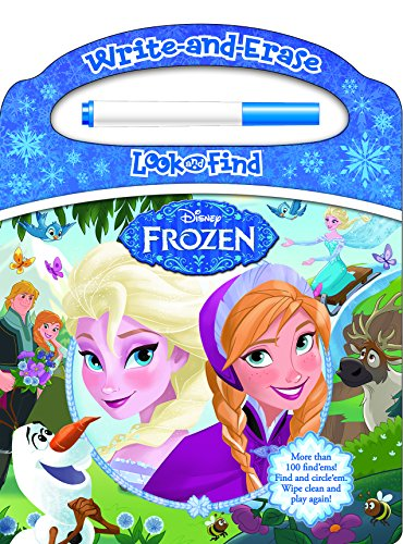 Frozen Write And Erase Look And Find