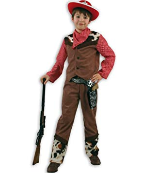 Gurimo - Disfraz de vaquero para niño (talla 116): Amazon.es ...