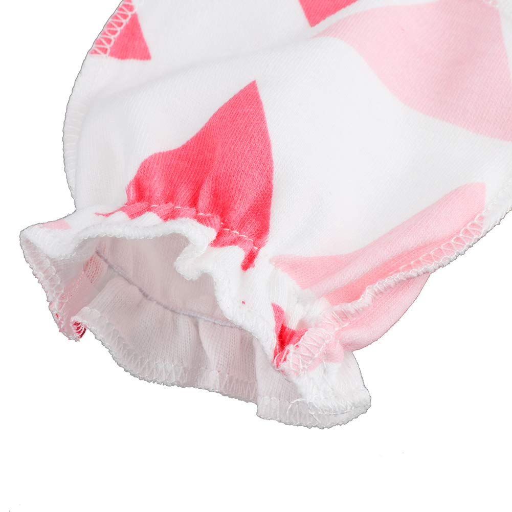 Amazon.com: Ehdching paquete de 3 bebé guantes de algodón no ...