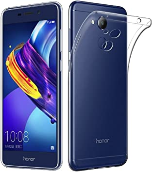 REY Funda Carcasa Gel Transparente para Huawei Honor V9 Plus/Honor ...