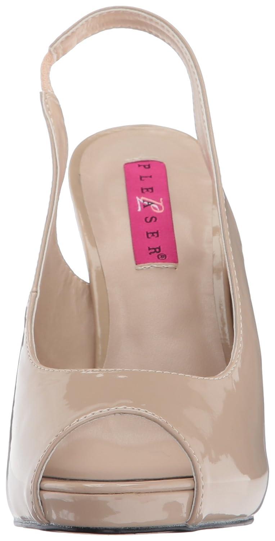 Pleaser rosa Label Eve-04, Sandali con Plateau Donna | Di Di Di Modo Attraente  087885