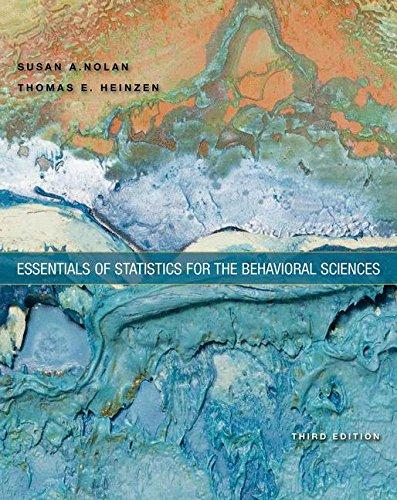 Essentials Of Stat.F/Behavioral Science