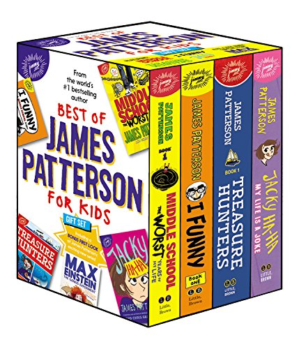 Best of James Patterson for Kids Boxed Set (with Bonus Max Einstein Sampler) by jimmy patterson