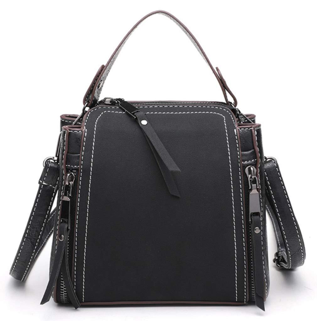RSQJ Crossbody Mini Bag Scrub Eimer Tasche Handtasche
