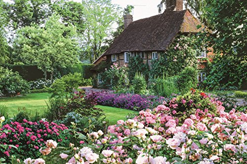 EPOCH 1000 Piece Jigsaw Puzzle Flower Garden of The Cottage (50x75cm)