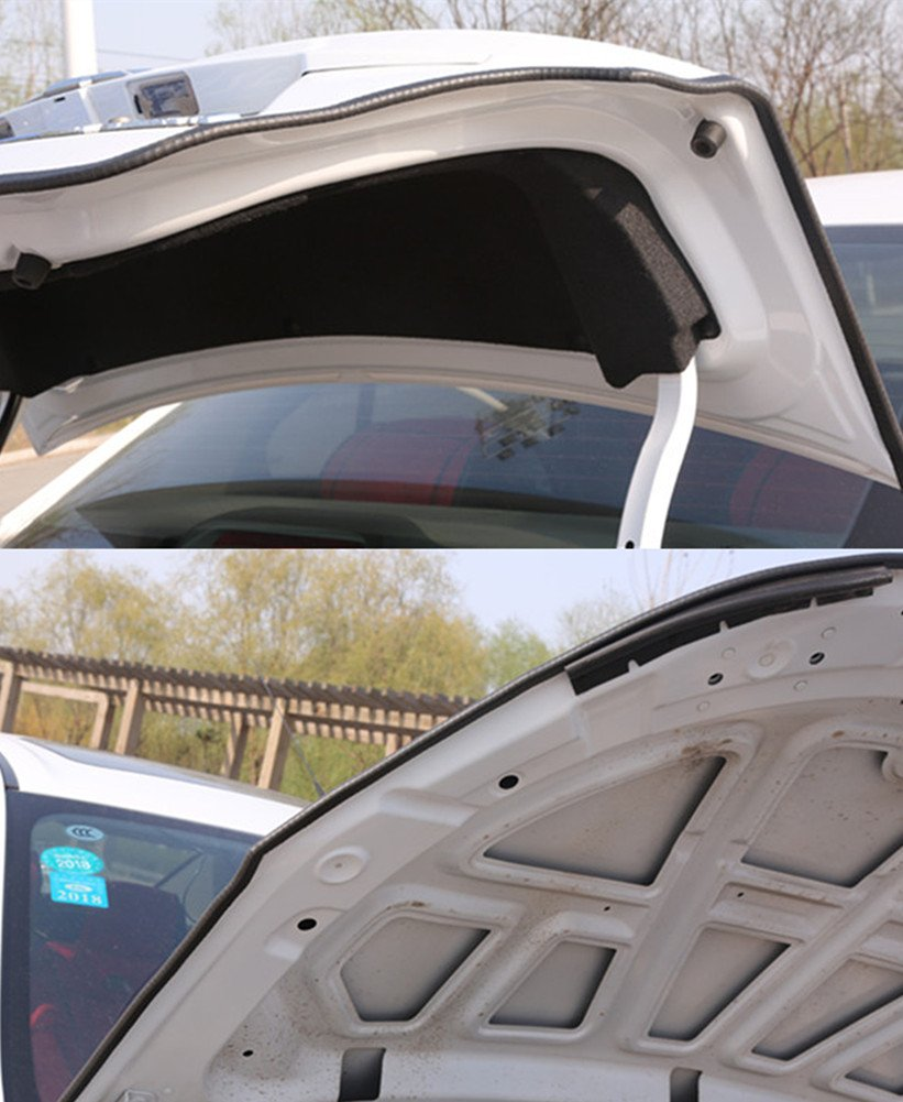 REDODECO 5M//16.4FT U Shape Car Door Edge Guard Trim Rubber Seal Strips Protection Door Edge Fits Most Car