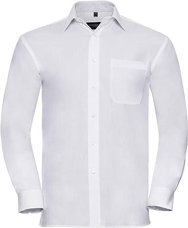 Kustom Kit - Camisa de Manga Modelo Pure Cotton Hombre Caballero 100% algodón - Trabajo/Fiesta/Verano