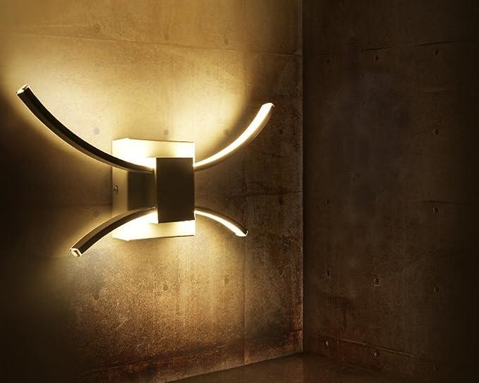 Plafoniere Da Parete Per Interni : Lampada da parete koonting moderno led applique interni