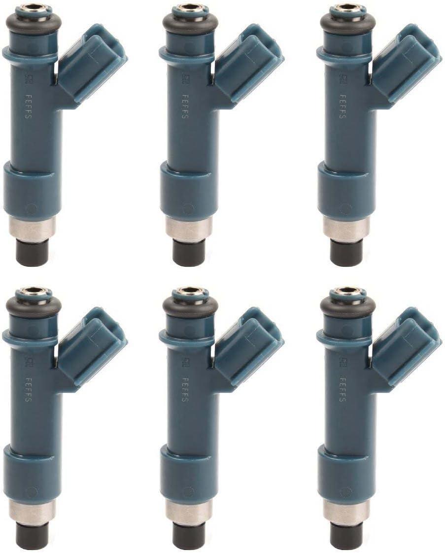6 OEM Denso Fuel Injector for 03-09 Toyota 4Runner//Tundra//Tacoma//FJ Cruiser 4.0L