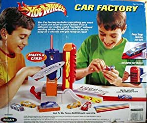 Hot Wheels Car Making Factory