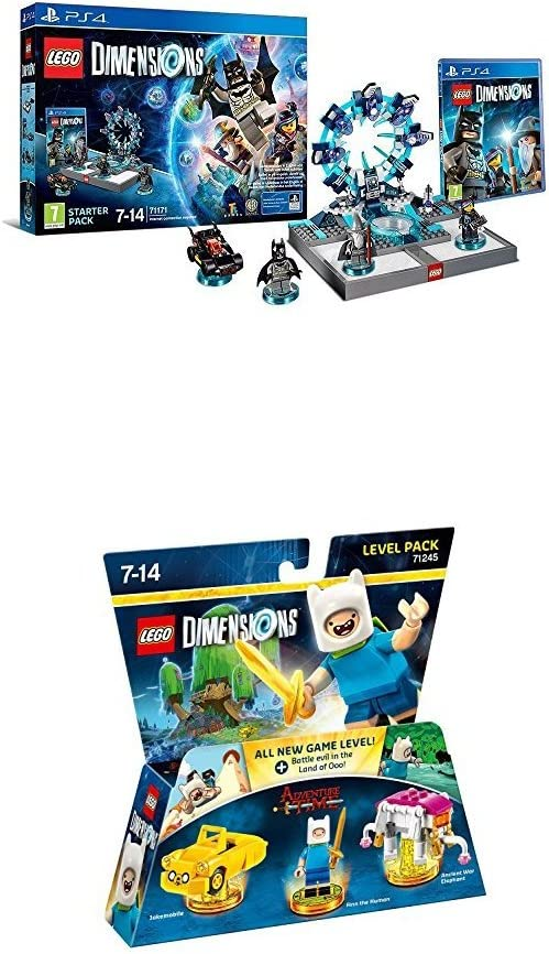 LEGO - Starter Pack Dimensions (PS4) + LEGO Dimensions: Adventure ...