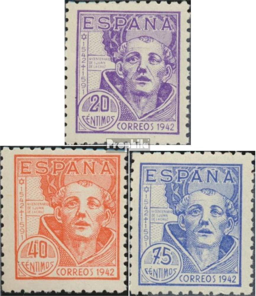 Prophila Collection España Michel.-No..: 898-900 (Completa.edición.) 1942 San Juan de Cruz (Sellos para los coleccionistas): Amazon.es: Juguetes y juegos