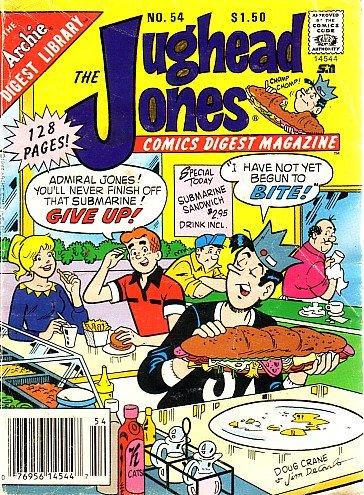 The Jughead Jones Comics Digest Magazine, #54 (Jughead Jones)