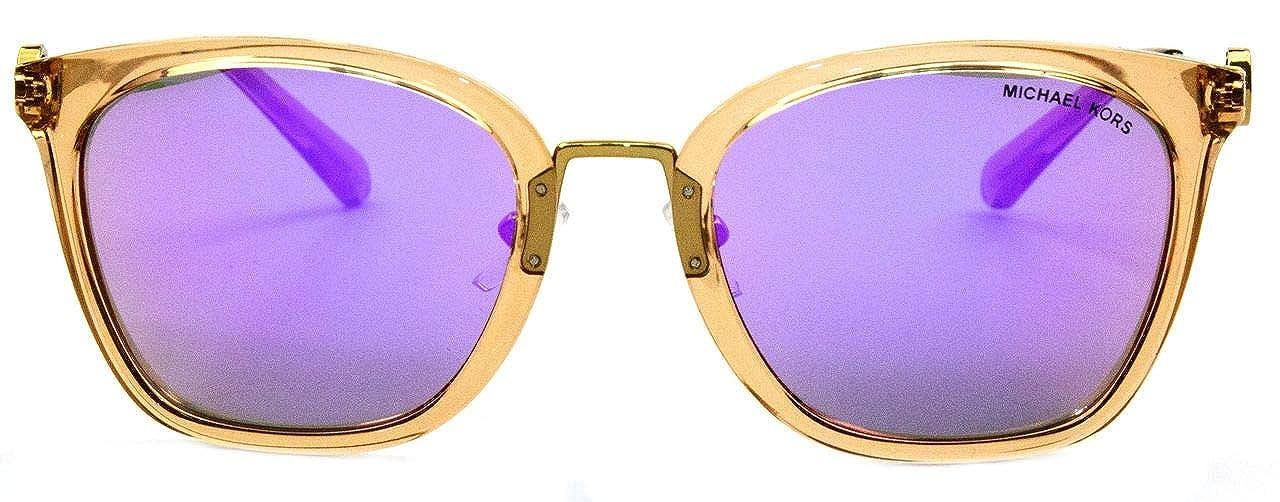 Michael Kors 0MK2064, Gafas de Sol para Mujer, Light Brown Crystal, 53: Amazon.es: Ropa y accesorios