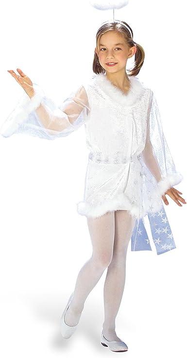 Disfraz de ángel, vestido de tul con forro sintético y, diseño de ...