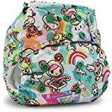 Kanga Care Rumparooz Cloth Pocket Diaper Snap, Tokisweet/Multi, One Size