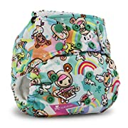 Kanga Care Rumparooz Cloth Pocket Diaper Snap, Tokisweet/Multi, One Size