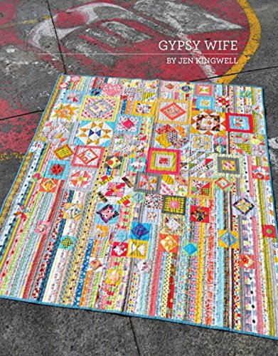 Stitches Pattern Booklet (Gypsy Wife By Jen Kingwell Quilting Booklet)